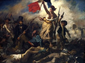 Grafika 2000 - Delacroix Eugene: Freedom Guiding the People, 1830