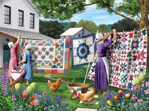 SunsOut 500 - Sharon Steele - Quilts in the Backyard