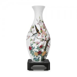 Pintoo 3D Vase Puzzle 160 - Song of the Birds and Fragrant Flowers