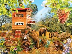 SunsOut 1000 - Lori Schory - Bears and Bees