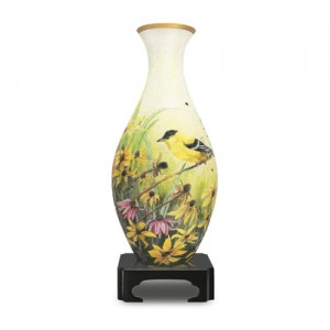 Pintoo 3D Vase Puzzle 160 - Goldfinches