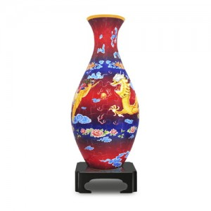 Pintoo 3D Vase Puzzle 160 - The Dragon and the Phoenix