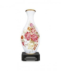 Pintoo 3D Vase Puzzle 160 - Home Sweet Home