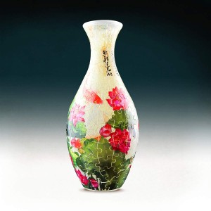 Pintoo 3D Vase Puzzle 160 - Carp with Lotus