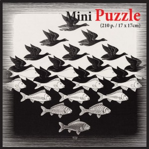 PuzzelMan 210 - MC Escher - Air and Water