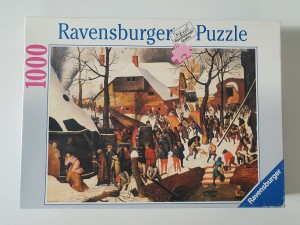 Ravensburger 1000 - Pieter Brueghel the Younger : The Adoriation of Magi (układane)