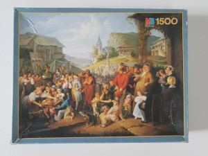 MB Puzzle 1500 - A Country Fair, 19th Century anon (układane)