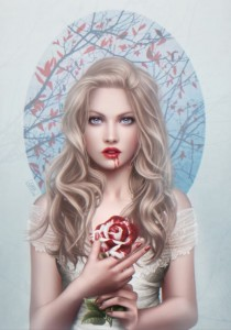 Grafika 1000 - Cris Ortega - Blood Rose
