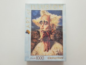 Clementoni 1000 - Art of Illision , The visions of Quijote (nowe)