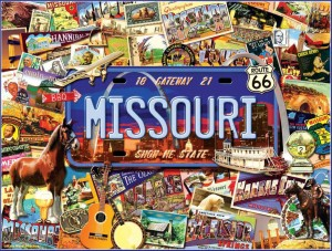 SunsOut 1000 - Kate Ward Thacker - Missouri : The 'Show Me' State