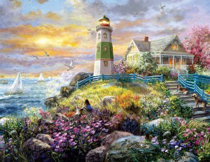SunsOut 1000 -  Nicky Boehme - A Lighthouse Memory