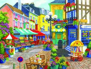 SunsOut 1000 - Nancy Wernersbach - French Market
