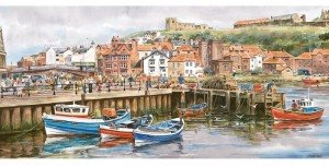 Gibsons 636 - Panoramic - Whitby Harbour