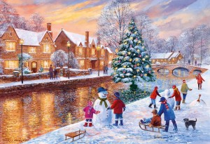 Gibsons 500 - Terry Harrison: Bourton at Christmas