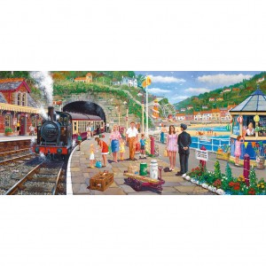 Gibsons 636 - Derek Roberts: Seaside Train