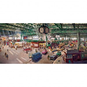 Gibsons 636 - Terence Cuneo: Under the Clock