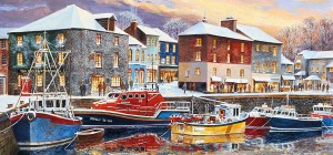 Gibsons 636 - Terry Harrison - Padstow in Winter