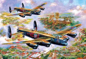 Gibsons 500 - Jim Mitchell - Lancasters Over Lincoln
