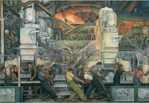 Pomegranate 1000 - Diego Rivera: the industry of Detroit