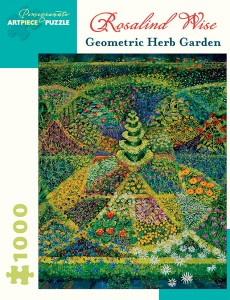 Pomegranate 1000 - Rosalind Wise - Geometric Herb Garden