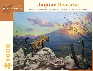 Pomegranate 1000 - Jaguar Diorama - October at Sunset, Sonora, Mexico