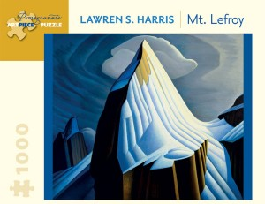 Pomegranate 1000 - Lawren S. Harris - Mt. Lefroy, 1930
