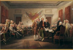 Pomegranate 1000 - John Trumbull: The Declaration of Independence, July 4, 1776