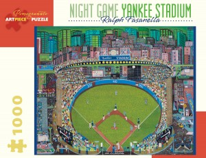 Pomegranate 1000 - Ralph Fasanella - Night Game - Yankee Stadium, 1981