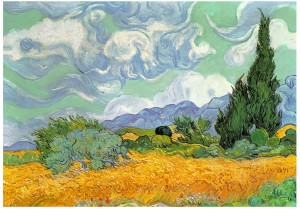 Wentworth 250 - Van Gogh - Wheat Field with Cypresses