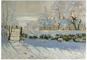 Wentworth 250 - Claude Monet - The Magpie