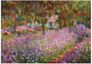 Wentworth 250 - Claude Monet - The artist's garden in Giverny