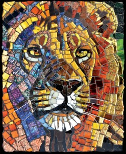 SunsOut 1000 - Cynthie Fisher - Stained Glass Lion